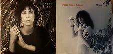 PATTI SMITH 2 LP Lot Wave~Dream of Life~Insert Custom Inner, Lyrics~$24.99