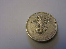 £1 Wales: Leek - 1990 - 1 Pound Coin - Circulated