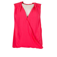 VELVET By Graham & Spencer Top Candy Pink Sleeveless RRP £99 BG