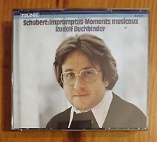 Rudolf Buchbinder - SCHUBERT:IMPROMPTUS & MOMENTS MUSICAUX 2CD BOX - Teldec 1986