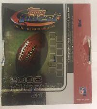 2002 Topps Finest Factory Sealed Football Hobby Box