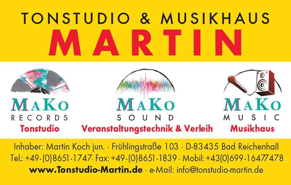 Tonstudio MARTIN