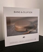 Bang & Olufsen Beoplay A1 Portable Bluetooth Speaker with Microphone – Tan