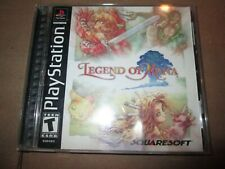 Legend of Mana (Sony PlayStation 1, 2000) BLACK LABEL COMPLETE