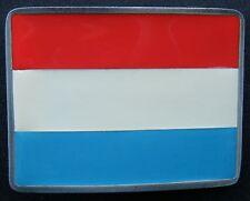 Boucle De Ceinture Luxembourg Flag Cool Belt Buckle Belts Buckles
