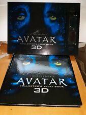 James Cameron Avatar Collector's Vault Book 3DGlasses New