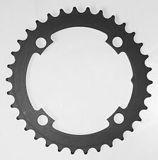 Vuelta SE Flat 104mm BCD 4-arm MTB Chainring 44T All Black