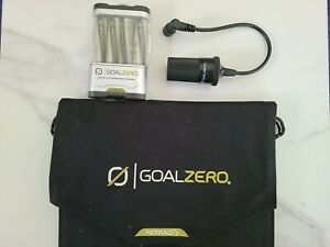 Goal Zero Nomad 7 Solar Power and Guide 10 Plus Battery Pack