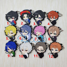 Hypnosis Mic rubber Keychain Key Ring Race Straps cosplay
