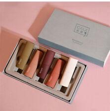 5Pcs Mousse Velvet Waterproof Non-fading Matte Lipstick Set