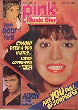 Pink & Music Star Magazine 7 June 1975 No 115  Rod Stewart  Donny Osmond Osmonds
