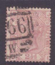 Sg141 2 1/2d Rosy Mauve Je Plate 13 Cat £60
