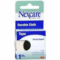 Nexcare Durable Cloth Tape 1 Inch 10 Yards (Pack of 4)