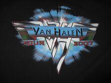 2007 Van Halen North America Tour Concert (Lg) T-Shirt David - Alex - Eddie