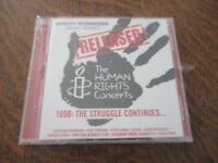 album 2 cd released! the human rights concerts 1998: the struggle continues...