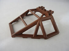 LEGO PART 30298 BROWN WINDSCREEN ROLL CAGE