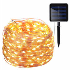 20M 200 LED Solar Powered Fairy String Light Lamp Outdoor Garden Xmas Party US