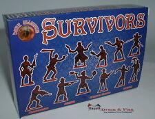 Dark Alliance Set #72038. Survivors (Anti-Zombies). 1/72 Scale