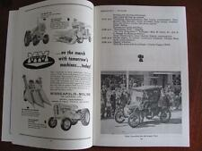 1957 Pion-Era Souvenir Program SASKATOON Farm Tractor Caterpillar Mpls-Moline Ad