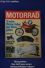 Motorrad 25/77 Van Veen Honda CX Suzuki RG 500 Hercule