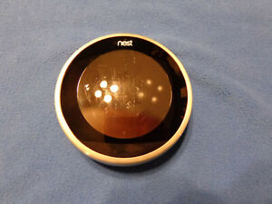 Nest Learning Thermostat Stainless Steel 3RD GEN - WIFI NOT WORKING - FOR PARTS