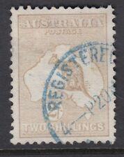 AUSTRALIA :1913 2/- pale brown  die II SG 12 used
