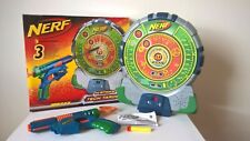 NERF N-STRIKE Tech Target / Electronic Target Board with Sounds + Nerf Gun