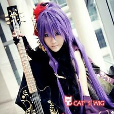 Vocaloid Miku Gakupo Purple Cosplay Wig