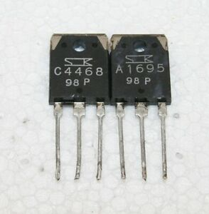 2SA1695 2SC4468 Sanken Matched pulled original transistors Group: P