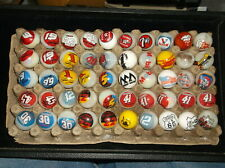 Nascar White Collector Marbles, Collection of 50, mostly Nascar, see pictures< 00004000 /a>