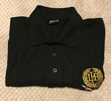 London Fire Brigade Polo Shirt LARGE Retired Members Association Chest