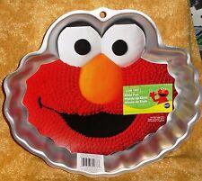 Elmo,Sesame Street,Cake Pan, Wilton, Aluminum, One-Mix Cake,2105-3461,Bake Ware