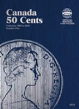 Whitman Canadian 50 Cent Coin Folder 1968-2013 Volume 5 #4013