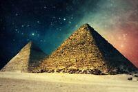 A1 | Egyptian Pyramids Poster Art Print 60 x 90cm 180gsm Egypt Giza Gift #8909