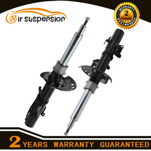 Pair Front Shock Absorber with Sensor for Range Rover Evoque Magnetic Damping