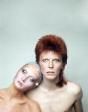 """Twiggy, David Bowie 14 x 11"""" Photo Print"""