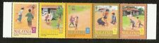 Children's Traditional Games I Malaysia 2000 Kites Kids Play Outdoor (stamp) MNH