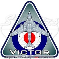 Handley Page VICTOR RAF V-Force, British Royal AirForce UK Vinyl Sticker, Decal