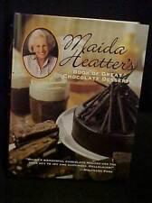 2006 Maida Heatter's Book of Great Chocolate Desserts Cookbook