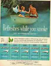 1960 vintage ad for Newport Cigarettes  -071312
