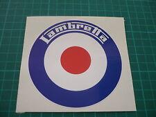 Lambretta Target Sticker 100mm