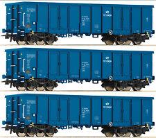 ROCO 76128 Set 3 Eaos PKP Cargo Ep VI Auf Wunsch Achstausch für Märklin gratis