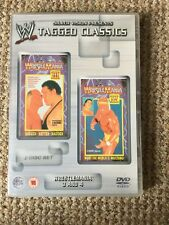 WWE Tagged Classics - Wrestlemania 3 & 4 DVD WWF Rare