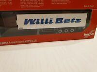 herpa Kühlkoffer-Auflieger 37056       -WILLI BETZ -       aus Modell  309691