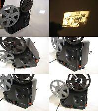 Super 8 mm Projektor Agfa Sonector-180 Meter Spulen-Ton-Aufnahme-Gute Funktion