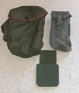 58 Pattern webbing Respirator pouch  stock Support pouch +ammo Pouch