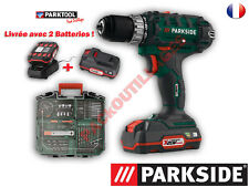 PARKSIDE® Set de perceuse-visseuse sans fil PABS 20-Li D5, 20 V