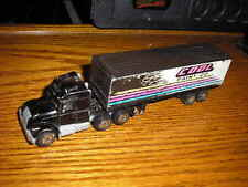 Matchbox 1/90 ? 6 1/2 Semi Tractor Cab with an 1981 Articulated Delivery Trailer