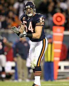 BRIAN URLACHER 8X10 PHOTO CHICAGO BEARS PICTURE NFL FOOTBALL