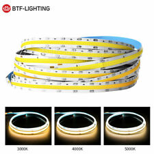 FOB Flexible LED Strip 378/504 LEDs Dimmable COB Linear Lights Tape 14W 12V/24V